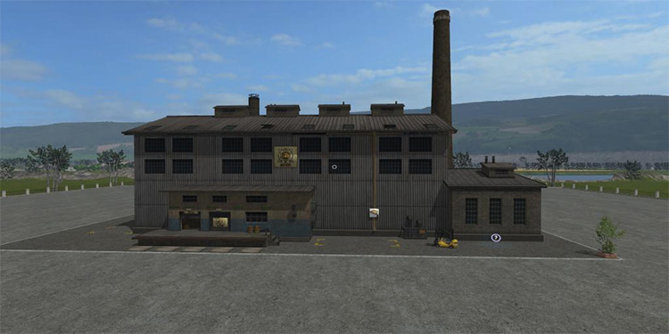 Placeable Beer Factory mod for Farming Simulator 17