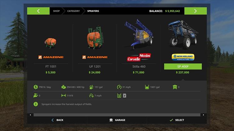 Unit Convert mod for Farming Simulator 17