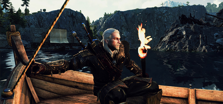 Better Torches Mod - Witcher3 Screenshot