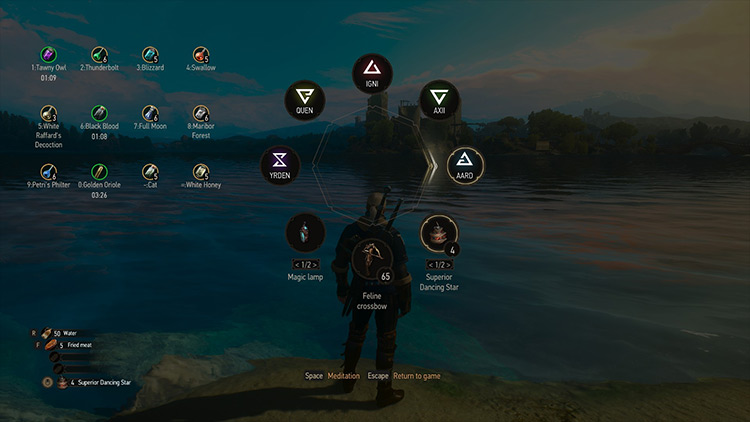 Friendly HUD - Witcher 3 mod