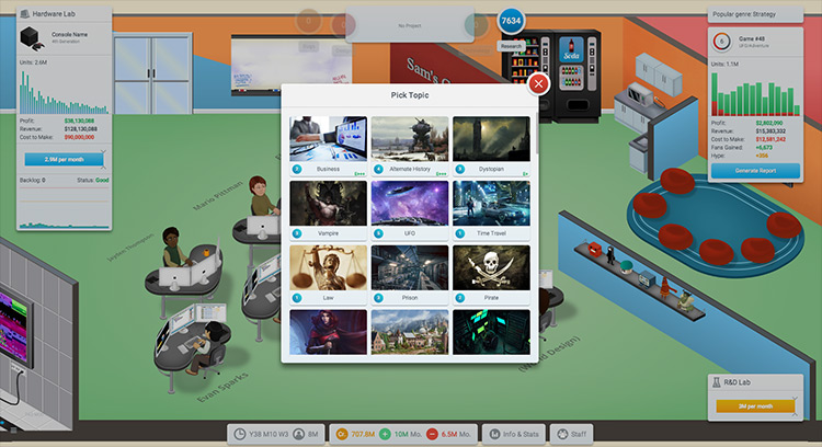 TAG Mod Game Dev Tycoon screenshot
