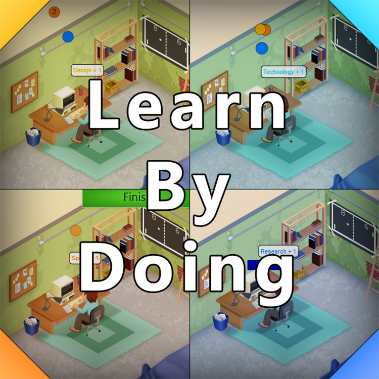 Learn By Doing mod for Game Dev Tycoon