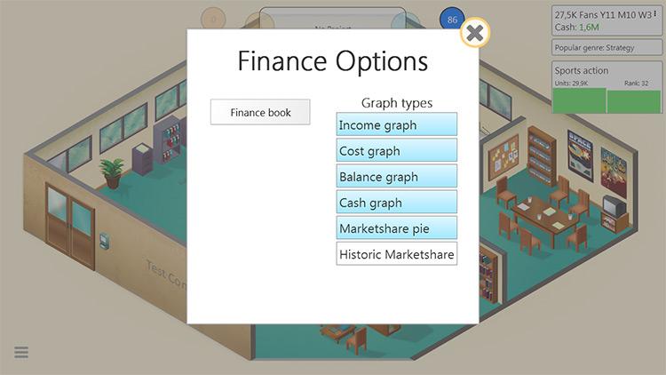 Finance mod 2.0 Game Dev Tycoon