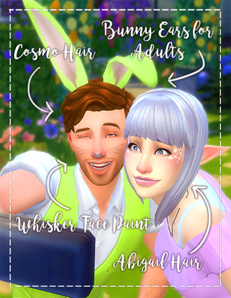 Bunny Ears CC for Sims 4