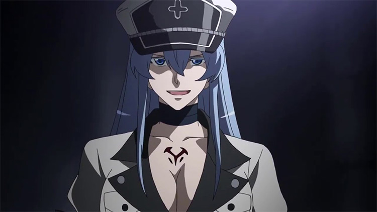 General Esdeath from Akame Ga Kill anime
