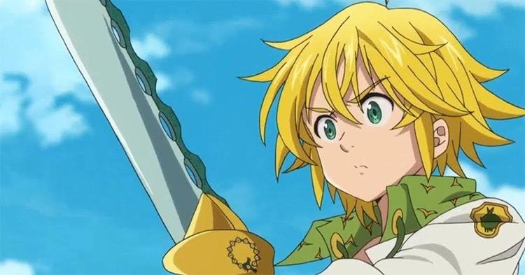 Meliodas from Seven Deadly Sins anime