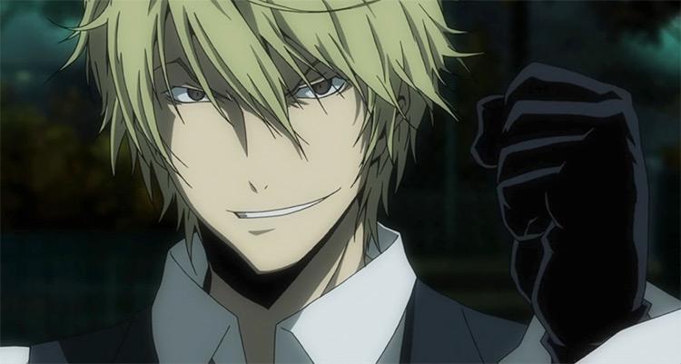Shizuo Heiwajima Durarara!! anime screenshot