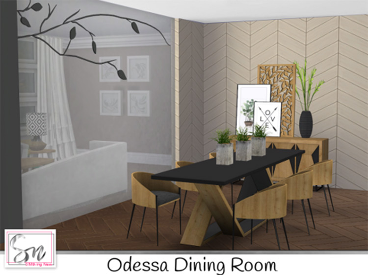 Sims 4 Dining Room Cc Best Furniture Sets Items For Your Home Fandomspot