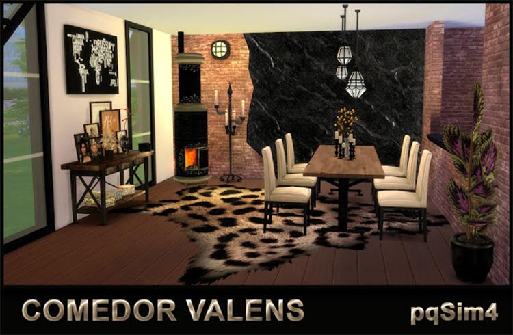 Comedor Valens CC for TS4