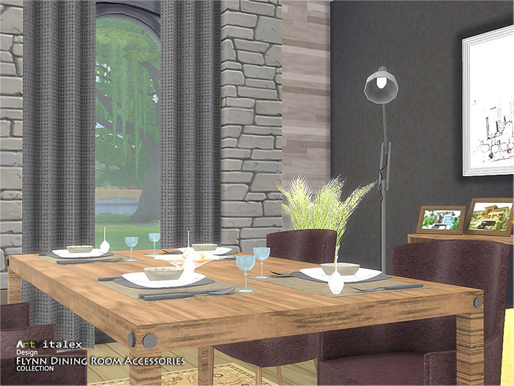 Flynn Dining Room CC Pack