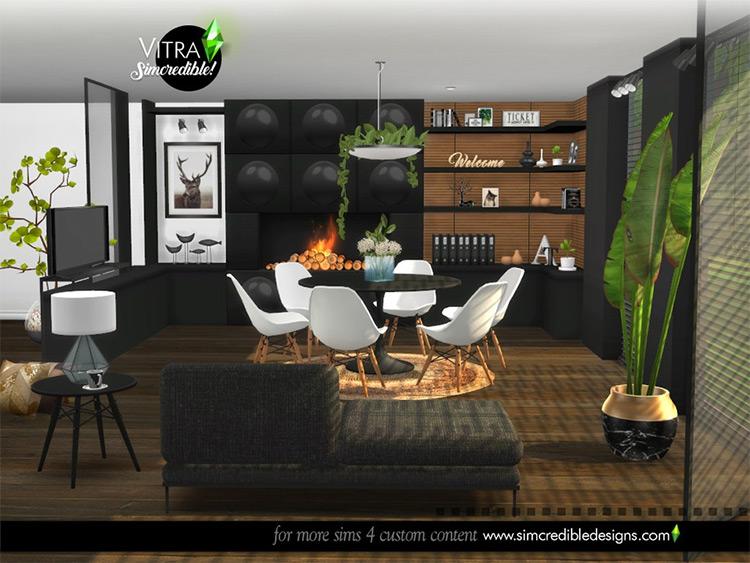 Vitra Dining Room CC - Sims 4