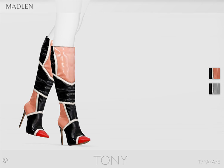 Madlen Tony Boots CC for TS4