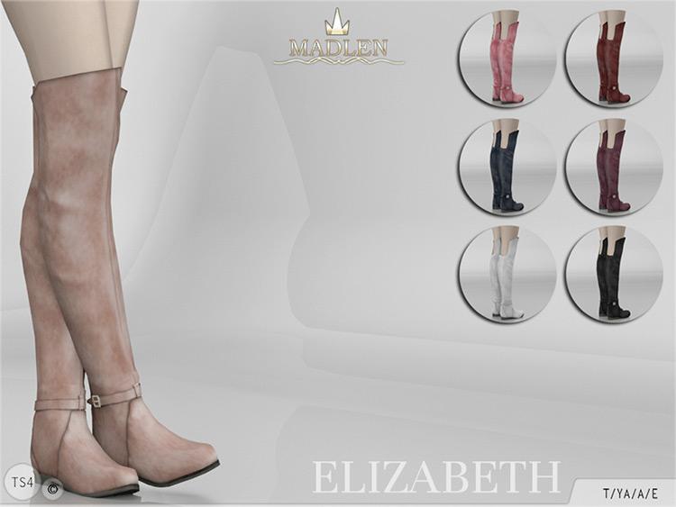 Madlen Elizabeth Boots - Knee-High CC