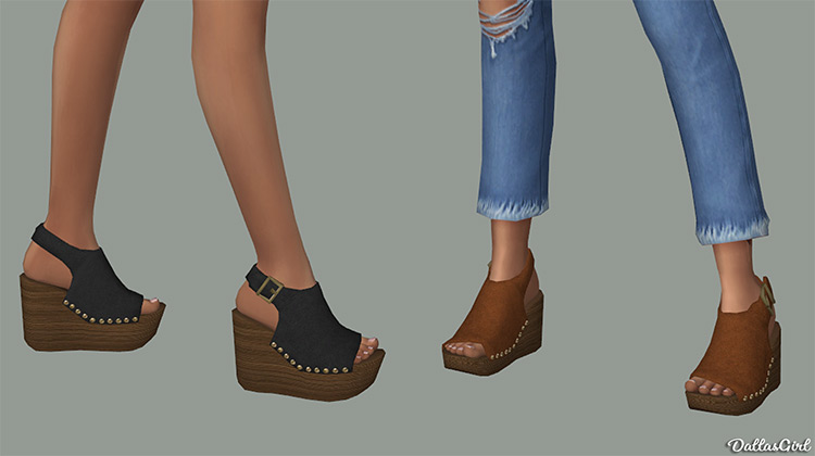 Snick Wedges CC for Sims 4
