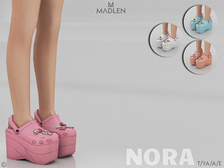 Madlen Nora Shoes - Girls Wedges CC