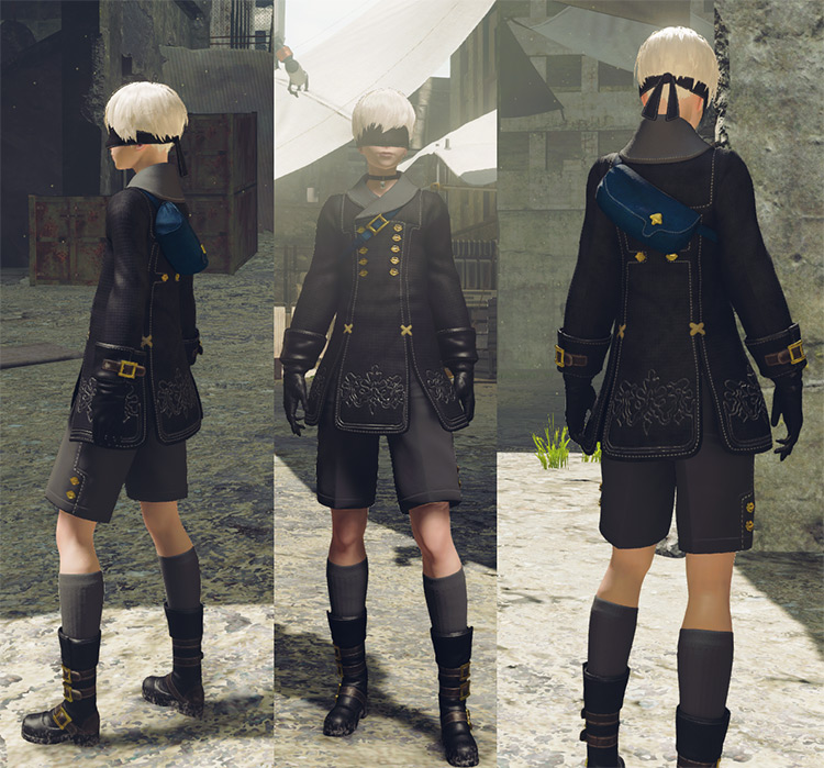 Androids Remastered Mod for NieR Automata