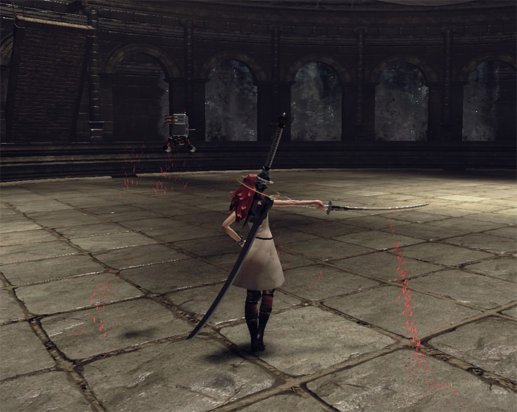 A2 Player Model Replacement Mod