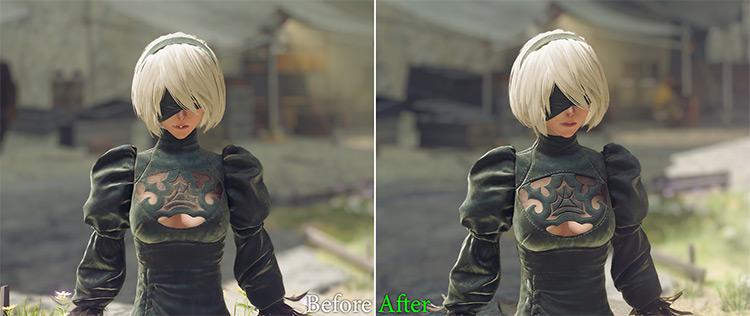 NieR Automata Texture Pack Screenshot