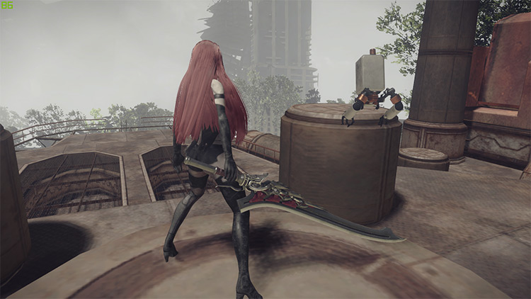 The Red Queen Mod for NieR