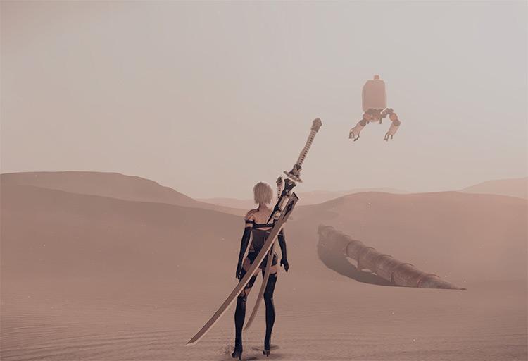Zero's Blade Mod for NieR