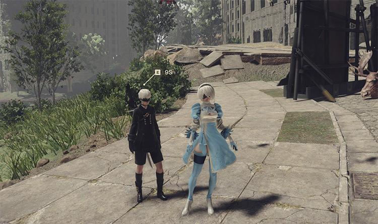 2B in Wonderland Costume Mod