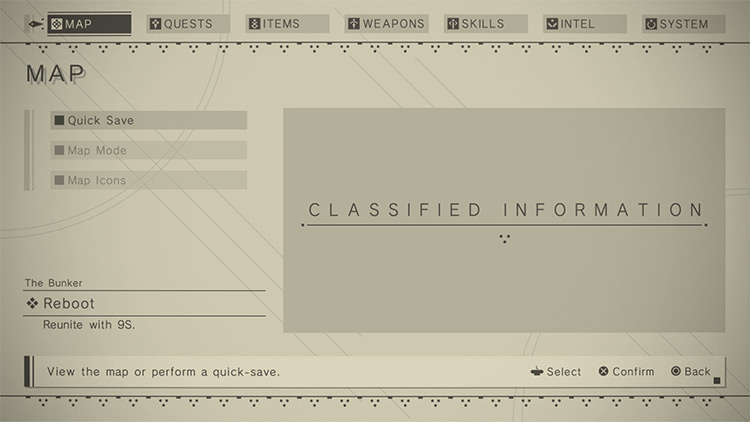 NieR Automata Grid Overlay Mod