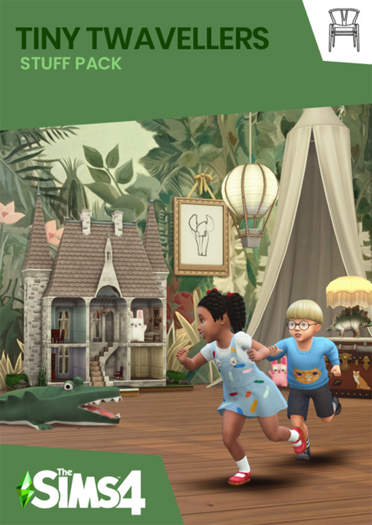 Tiny Twavellers CC Pack for The Sims 4