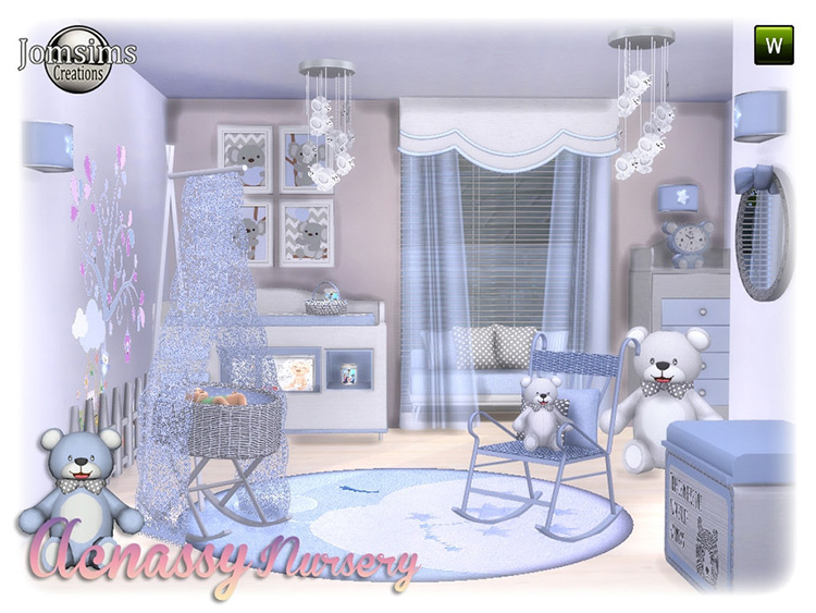 Acnassy Nursery CC Set