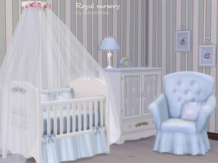 Royal Nursery CC for The Sims 4