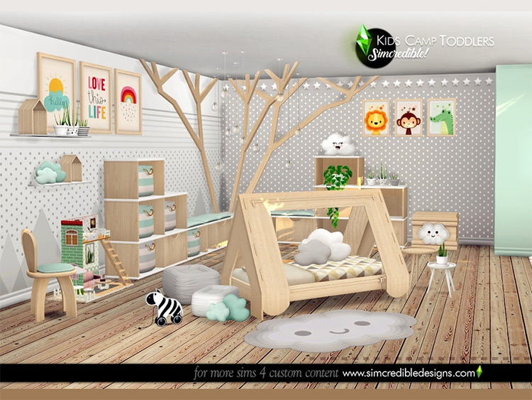 Camping Toddlers Room CC Set