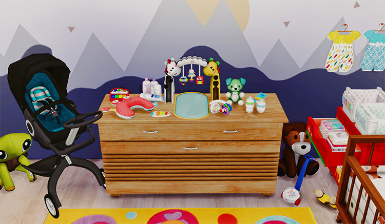 Baby Decor Outfitters CC for The Sims 4