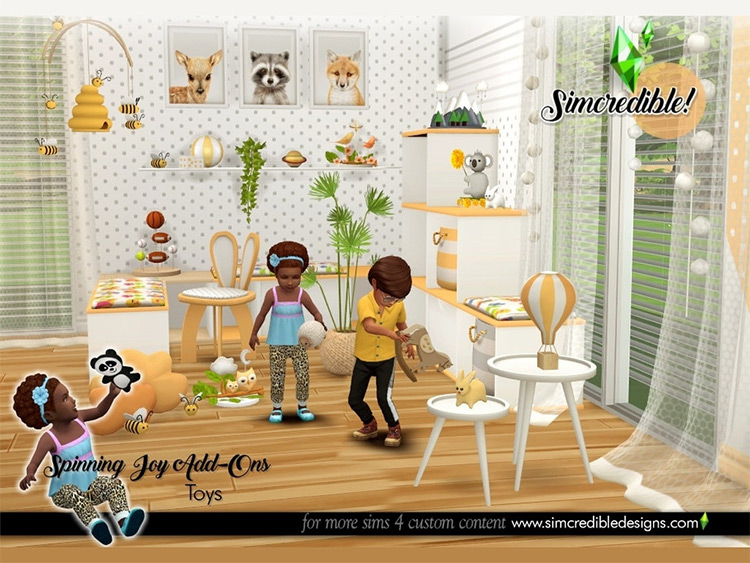 Spinning Joy Toys CC for The Sims 4
