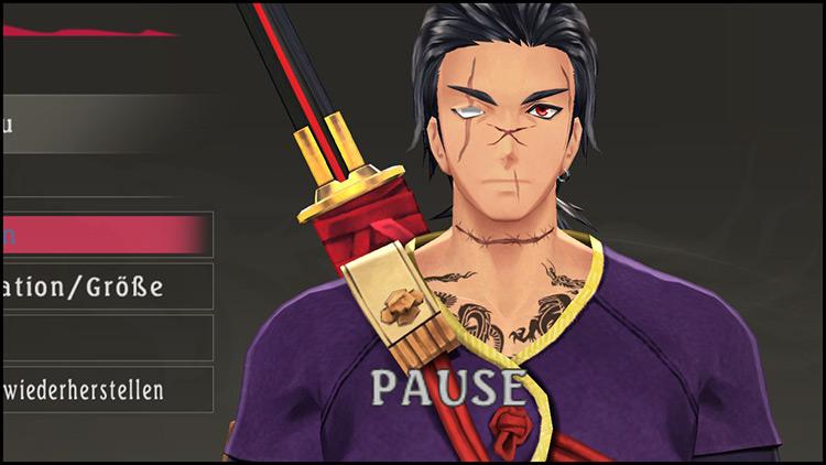 Face Rework Tales of Berseria Mod Rokuro character