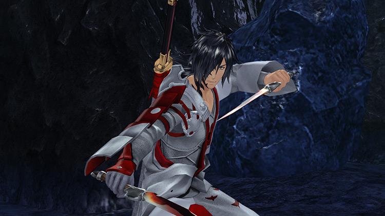 Rokuro in White Robes - Tales of Berseria Mod screenshot