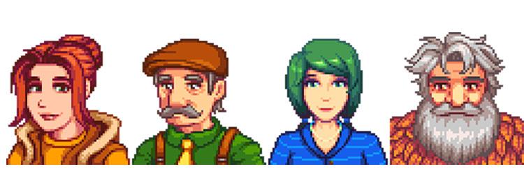 Character Portrait Overhauls SV Mod