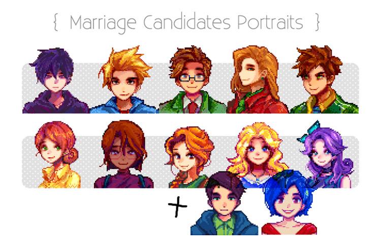 Kals SV Mods Marriage Candidates
