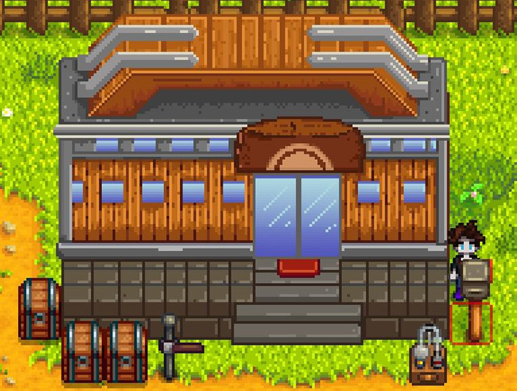 Stardew Valley Pokemon Gym Mod