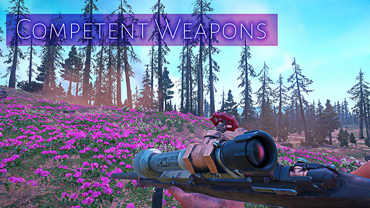 Competent Weapons Mod title