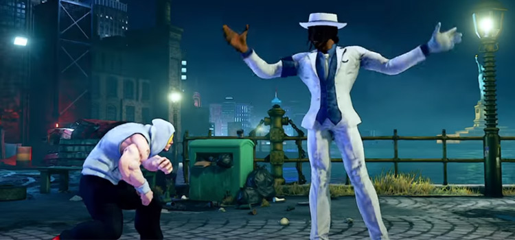 Michael Jackson Modded into Street Fighter V