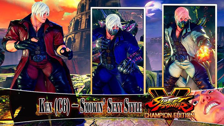 Smokin Sexy Style Street Fighter V Mod title