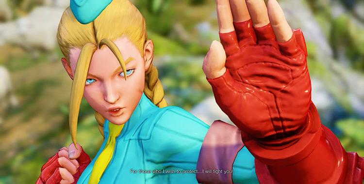 Alpha Cammy Remastered Street Fighter V Mod