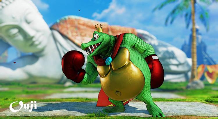 King K Rool Street Fighter Mod by ouji