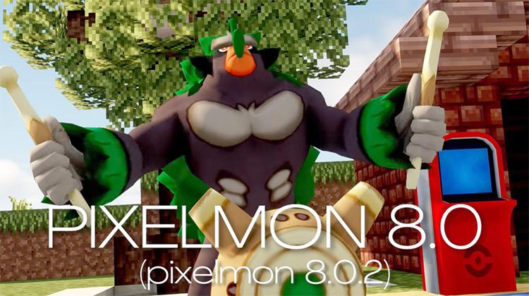 Pixelmon Minecraft Pokémon Mod