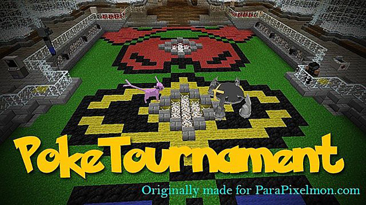PokeTournament Minecraft mod