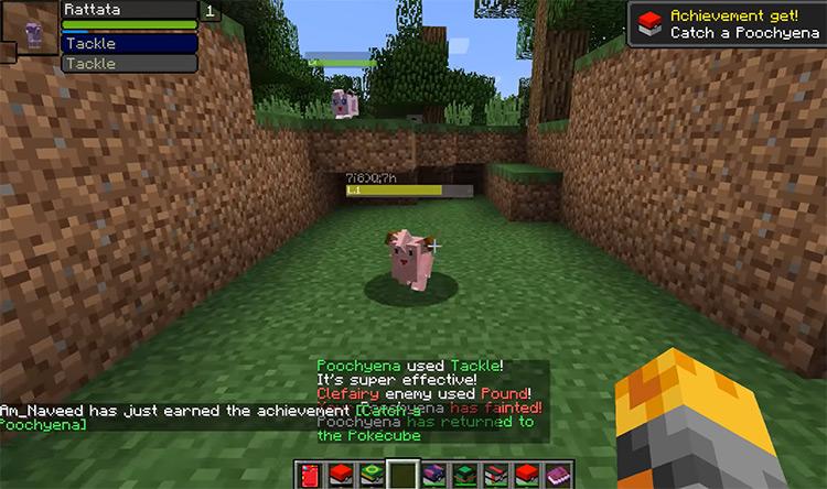 Pokecube Mobs Minecraft Mod