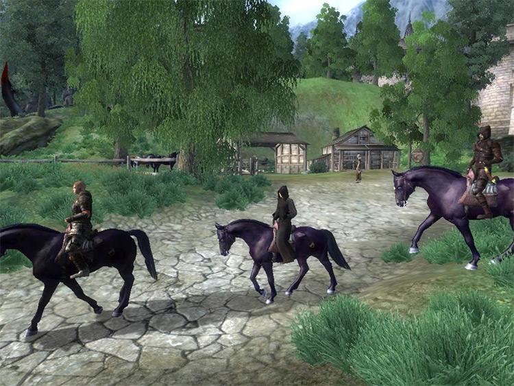 Ruined-Tail Tale Oblivion Quest Mod screenshot