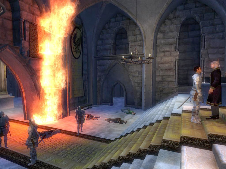 Tears of the Fiend Oblivion Quest Mod screenshot