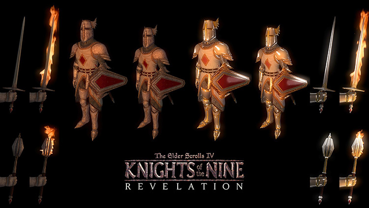 Knights of the Nine: Revelation Mod title