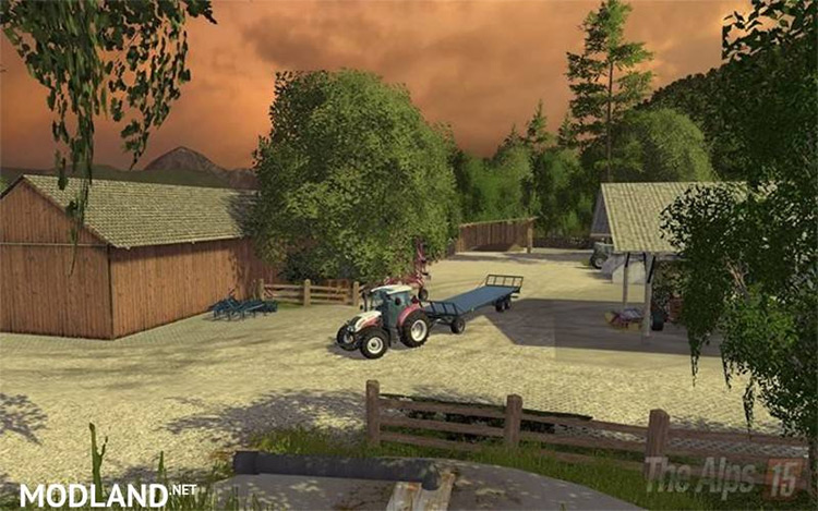 The Alps FS15 Map Mod