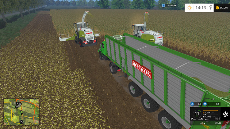 MAN TGS AGRAR - Mod Vehicle Pack for FS15